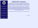 View More Information on Multi Mix Systems