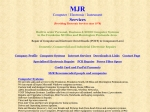 View More Information on MJR Instrument Services