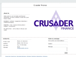 View More Information on Crusader Finance