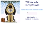 View More Information on Country Pet Motel