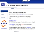View More Information on C. I. Sales & Service Pty Ltd