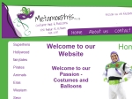 View More Information on Metamorphys Costume Hire & Balloons
