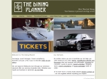 View More Information on The Dining Planner