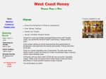 View More Information on West Coast Honey