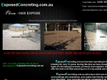 View More Information on Exposed Concreting