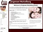 View More Information on Jorgensen Mutzelburg Dental