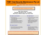 View More Information on Total Security Maintenance Pty Ltd