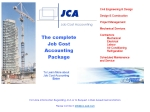 View More Information on JCA Job Cost Accounting