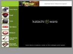 View More Information on Katachi Ware
