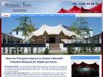 View More Information on Nomadic Tents