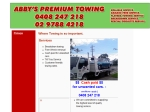 View More Information on Abbys Premium Towing