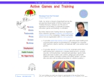 View More Information on Active Games And Training