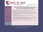View More Information on Sort It Out - Organising Services