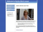 View More Information on Deirdre Black Lawyer