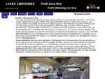 View More Information on Lakes Limousines