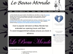 View More Information on B & M Le Beau Monde