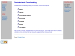 View More Information on Doublecheck Proofreading