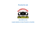 View More Information on Porsche Classics