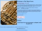View More Information on The Music Score