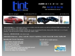 View More Information on Tint On The Move.(Campbelltown)