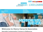 View More Information on Henry Carus & Associates