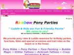 View More Information on Rainbow Pony Parties