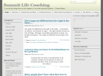 View More Information on Summit Life Coaching