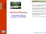 View More Information on Red Earth Planning