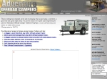 View More Information on Adventure Offroad Campers