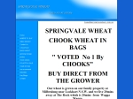 View More Information on Springvale Wheat