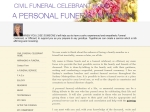 View More Information on Elaine Searle Funeral Celebrant