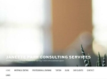 View More Information on Janette Parr Consulting Services