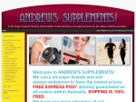 View More Information on Andrew's Supplements!