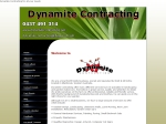 View More Information on Dynamite Contracting