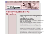 View More Information on E.Z. Videography