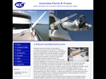 View More Information on Australian Davits And Cranes