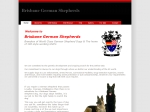 View More Information on Brisbane German Shepherds