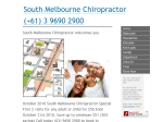 View More Information on South Melbourne Chiropractor