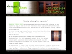 View More Information on Designer Timber Doors