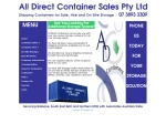 View More Information on All Direct Container Sales Pty Ltd