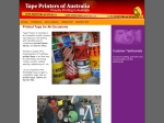 View More Information on Tape Printers Of Australia
