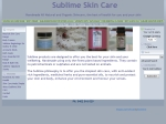 View More Information on Sublime Skin Care