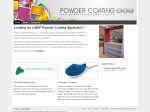 View More Information on Powder Coating MDF