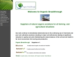 View More Information on Organic Breakthrough