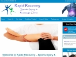 View More Information on Rapid Recovery Sports Injury & Massage Clinic
