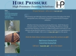 View More Information on Hire Pressure
