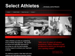 View More Information on Select Athletes Pty Ltd