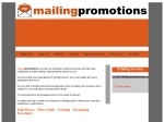 View More Information on Mailing Promotions