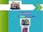 View More Information on 123 Jumping Castles