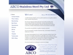 View More Information on Abco Stainless Steel Pty Ltd
